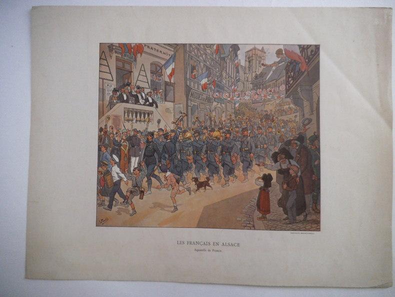 Les Français en Alsace. PIERLIS