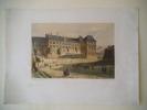 Vue du château de Blois. MONTHELIER