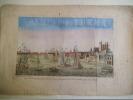 Vue perspective de la Tour du pont et d'une partie de la ville de Londres prise de la Tamise . Vue d'optique