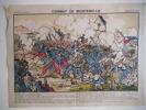 Combat de Montebello Campagne d'Italie . Imagerie Pellerin