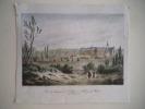 Vue du Monastère de la Trappe . PERNET F.A