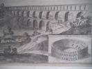 Description du pont du Gard et de l'amphithéâtre de Nîsme. . de fer Nicolas