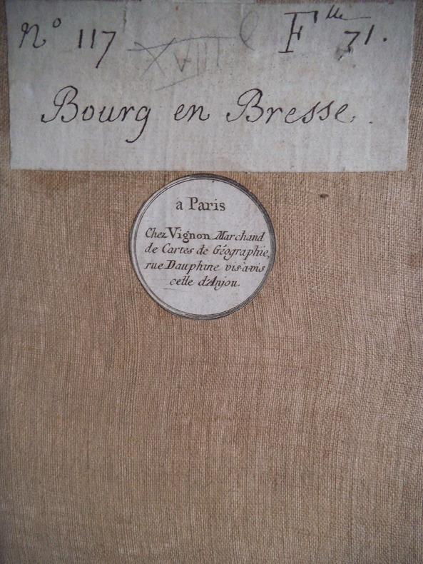 Bourg en Bresse . CASSINI de THORY