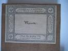 Carte de la Meuse . anonyme
