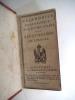 Calendrier ecclésiastique civil et militaire de la Sénatorerie de limoges 1807. collectif