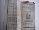 Calendrier ecclésiastique civil et militaire de la Sénatorerie de limoges 1806. collectif
