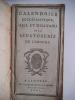 Calendrier ecclésiastique civil et militaire de la Sénatorerie de limoges 1811 . collectif