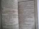 calendrier de la ville de Limoges et du département de la Haute-Vienne année de grâce 1791. . Collectif