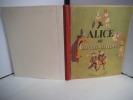 Alice au pays des merveilles.. CARROL Lewis