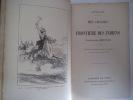 Mes chasses à la frontière des indiens.. STRUBBERG Friedrich Armand