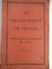 Le Grand Orient de France. collectif