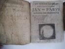 Een shoone historie Van den edel en Jan Van Parys . anonyme