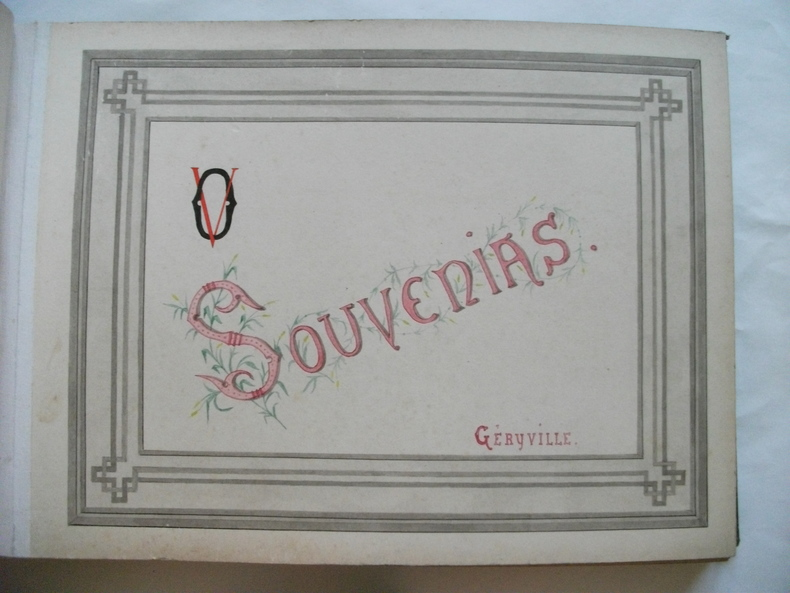 Souvenirs de GERYVILLE. Collectif