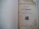 Journal officiel de la République Française sous la COMMUNE du 19 mars au 24 mai 1871. . Collectif