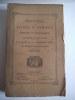 recueil des notices et mémoires de la Société archéologique du département de Constantine.188-1889 . Collectif