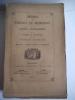 recueil des notices et mémoires de la Société archéologique du département de Constantine.1873-1874 . Collectif