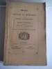 recueil des notices et mémoires de la Société archéologique du département de Constantine.1871-1872 . Collectif