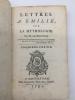Lettres à Emilie sur la mythologie, 3 vol.. MOUSTIER, M. de