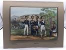 Gravures militaires. Les dernières milices cantonales. Artillerie I. ESCHER, A. von