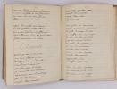 Recueil de chansons, romances, ariettes et caetera copiées par Chenal (E.-Augustin) en 1817. CHENAL, E.-Augustin