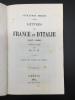 Lettres de France et d'Italie (1847-1852). Traduit du Russe par Mme N.H. [Natalie Herzen].. HERZEN, Alexandre