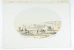 Souvenir de Schéveningue. Dessiné d'après nature par H. W. Last. [Herinnering aan Scheveningen].. LAST H. W.