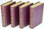Poésies complètes de Leconte de Lisle. Texte définitif avec notes et variantes. Eaux-fortes de Maurice de Becque. 4 VOLUMES - COMPLET.. LECONTE DE ...