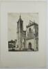 Colmar Église St. Martin. . LAMBRECHT, William Adolph (1876-1940).