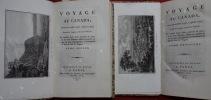 Voyage au Canada, dans les années 1795, 1796 et 1797 ; traduit de l'anglais d'Isaac Weld et enrichi d'une carte générale du pays et de onze planches ...