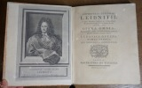 Opera omnia, nunc primum collecta, in Classes distributa, præfationibus & indicibus exornata, studio Ludovici Dutens. LEIBNIZ (Gottfried Wilhelm)