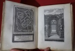(Labyrinte de Versailles). 't Doolhof te Versailles, bestaande in XLI. keurelyke verbeeldingen van alle de uitmuntende fonteinen van het zelve ...