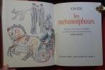 Les Métamorphoses. Préfacées par Jacques Lacarrière, illlustrées de gravures originales de Dimanov. OVIDE