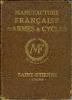 Manufacture française d'armes & cycles. (Catalogue) MANUFRANCE