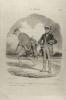 (Le Charivari) La chasse N°6. (Gravure) DAUMIER Honoré
