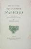 Les dix livres de cuisine d'Apicius. ( APICIUS ) GUEGAN Bertrand