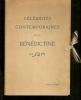 """""""CELEBRITES CONTEMPORAINES ET LA BENEDICTINE"""". ([PUBLICITE]) SEM"""