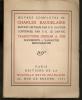 """""""OEUVRES COMPLETES DE CHARLES BAUDELAIRE"""" Edition critique par F.-F. Gautier continuée par Y.-G. Le Dantec - Traductions d'Edgar Poe - """"DOCUMENTS - ..."""