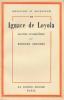 Ignace de Loyola, maître d'héroisme. AMOUDRU Bernard