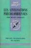 Les civilisations Précolombiennes . LEHMANN Henri