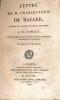 Instruction pastorale de Monseigneur l'évêque de Troyes, sur l'impression des mauvais livres, et notamment sur les nouvelles oeuvres complètes de ...