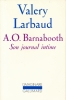 A. O. Barnabooth. Son journal intime . LARBAUD Valéry