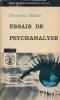 Essais de psychanalyse . FREUD Sigmund