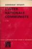 L'internationale communiste . DESANTI Dominique