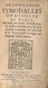 Ordonnances synodalles du diocèze de Rodez, imprimés (sic) par ordre d'illustrissime et reverendissime Père en Dieu Messire Gabriel de Voyer de ...