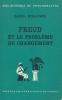 Freud et le problème du changement. WIDLOCHER Daniel