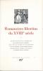 Romanciers libertins du XVIIIe siècle. COLLECTIF