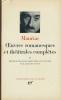 Oeuvres romanesques et théâtrales complètes. II. MAURIAC François