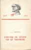 L'oeuvre de Lenine vit et triomphe. BREJNEV L. I.