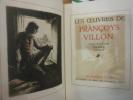Les Oeuvres de François Villon.. VILLON François - COLLOT André