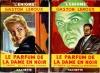 Le parfum de la dame en noir - 1. Le fantôme vivant (1949) - 2. La presquîle mystérieuse . LEROUX Gaston